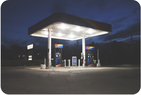 montar posto de combustível